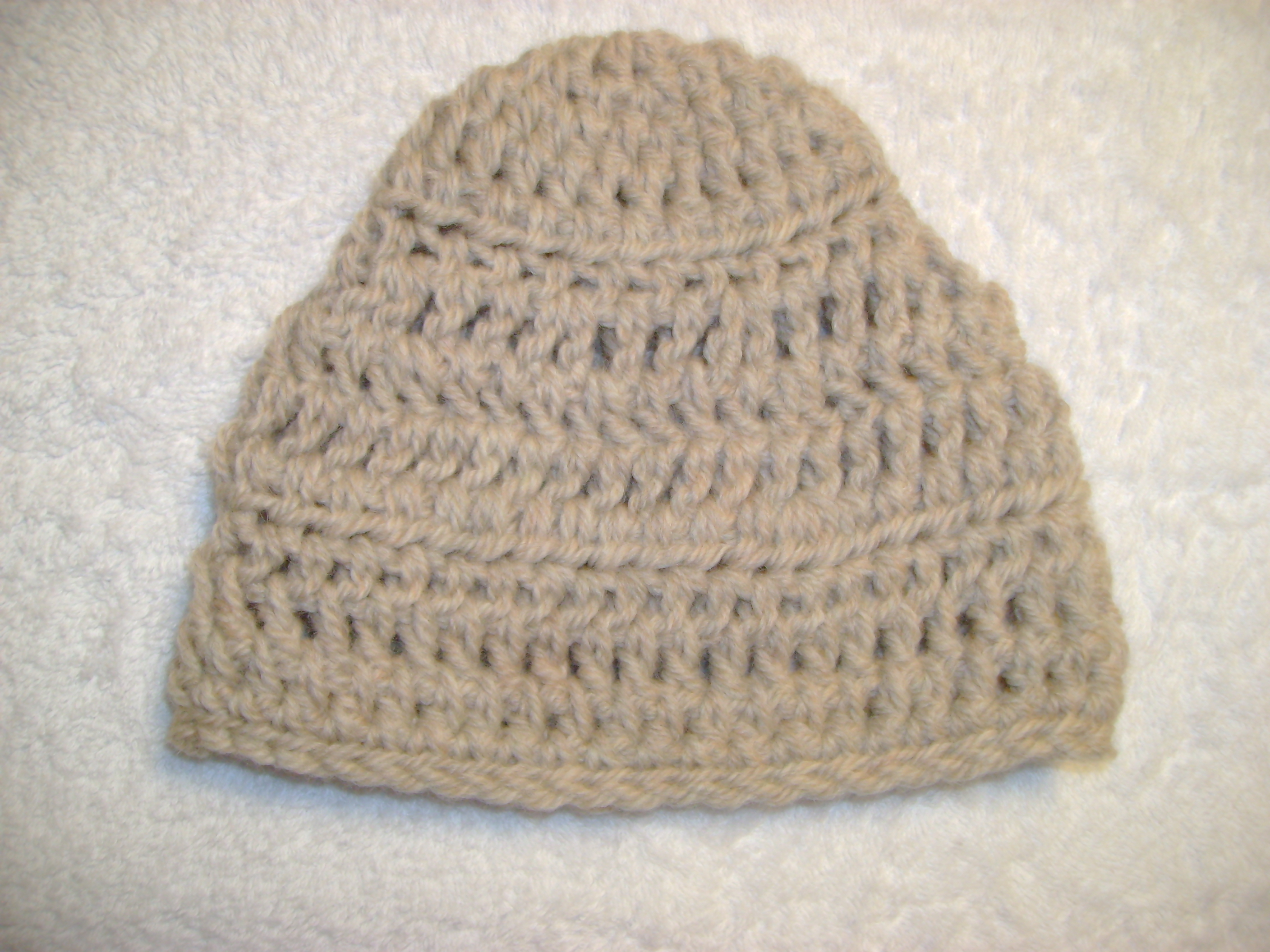 Wool Natural hat